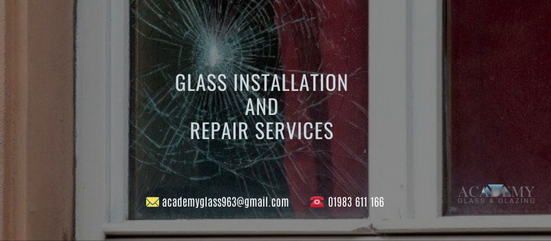 glass installation repair services